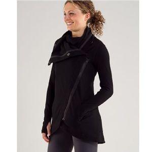 Lululemon method wrap jacket 10